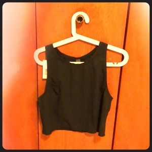 Outdoor voices cropped workout top NWT